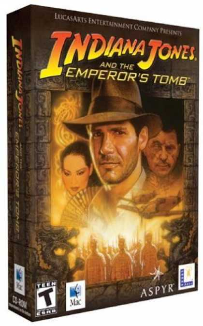 Bestselling Games (2006) - Indiana Jones & The Emperor's Tomb (Mac)
