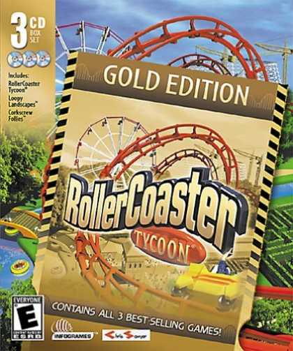 Bestselling Games (2006) - RollerCoaster Tycoon Gold Edition