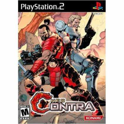 Bestselling Games (2006) - Neo Contra for PlayStation 2