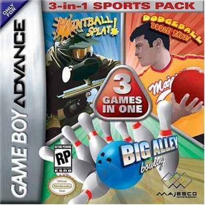 Bestselling Games (2006) - Dodge Ball/Bowling/Paintball