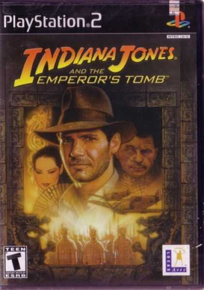 Bestselling Games (2006) - LUCASARTS Indiana Jones and the Emperor's Tomb ( Playstation 2 )