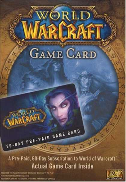 Bestselling Games (2006) - World of Warcraft 60 Day Pre-Paid Time Card