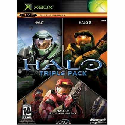 Bestselling Games (2006) - Halo Triple Pack
