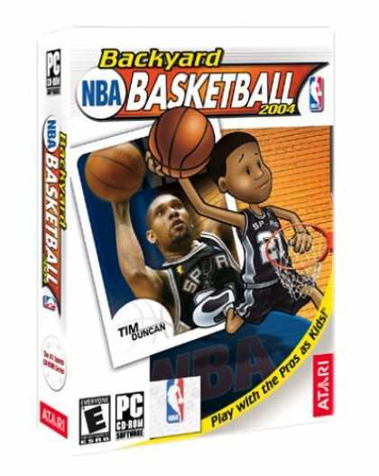 Bestselling Games (2006) - Backyard Basketball 2004