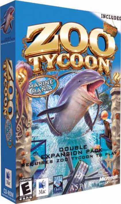 Bestselling Games (2006) - Zoo Tycoon: Marine Mania and Dinosaur Digs Expansion Packs (Mac)