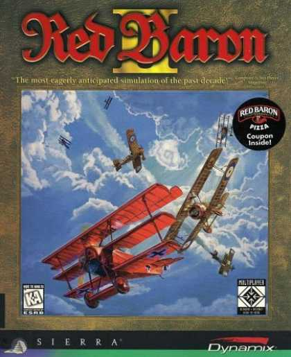Bestselling Games (2006) - Red Baron II (PC)