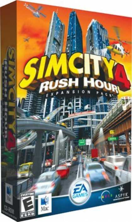 Bestselling Games (2006) - Sim City 4: Rush Hour Expansion Pack (Mac)