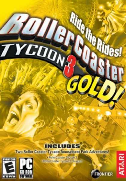 Bestselling Games (2006) - Rollercoaster Tycoon 3: Gold Compilation Pack