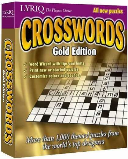 Bestselling Games (2006) - Lyriq Crosswords Gold Edition