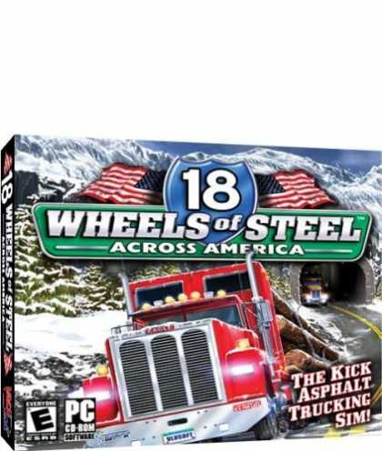 Bestselling Games (2006) - 18Wheels of Steel: Across America (Jewel Case)