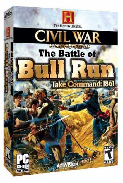 Bestselling Games (2006) - History Channel Civil War: The Battle of Bull Run