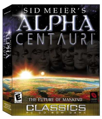 Bestselling Games (2006) - Alpha Centauri (Jewel Case)