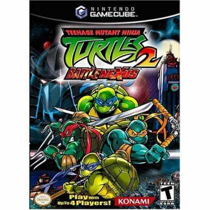 Bestselling Games (2006) - Teenage Mutant Ninja Turtles 2 Battle Nexus