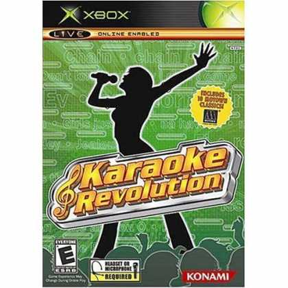 Bestselling Games (2006) - KARAOKE REVOLUTION BUNDLE FOR XBOX