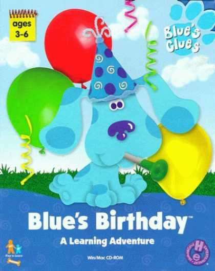 Bestselling Games (2006) - Blue's Clues Birthday Adventure