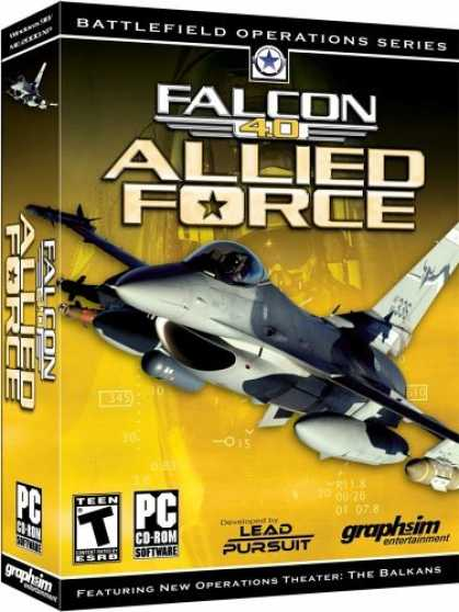 Bestselling Games (2006) - Falcon 4.0: Allied Force
