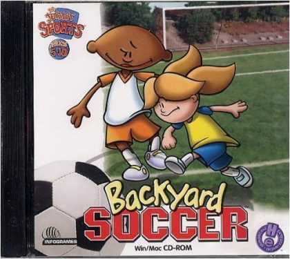 Bestselling Games (2006) - Backyard Soccer (Jewel Case)