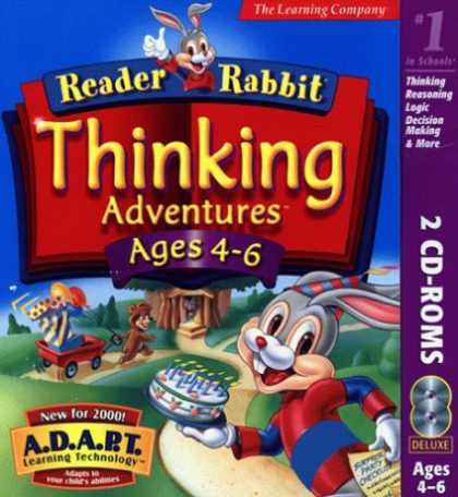 Bestselling Games (2006) - Reader Rabbit: Thinking Adventures (Jewel Case)
