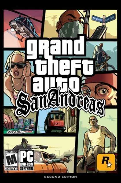Bestselling Games (2006) - Grand Theft Auto: San Andreas V2.0