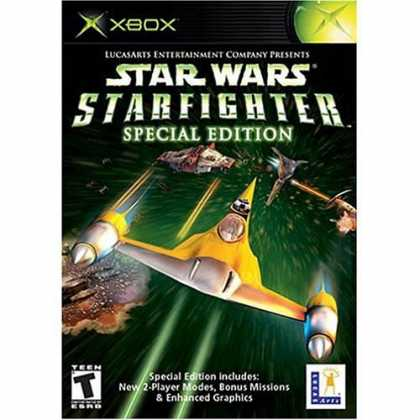 Bestselling Games (2006) - Star Wars: Starfighter Platinum Hits for Microsoft Xbox