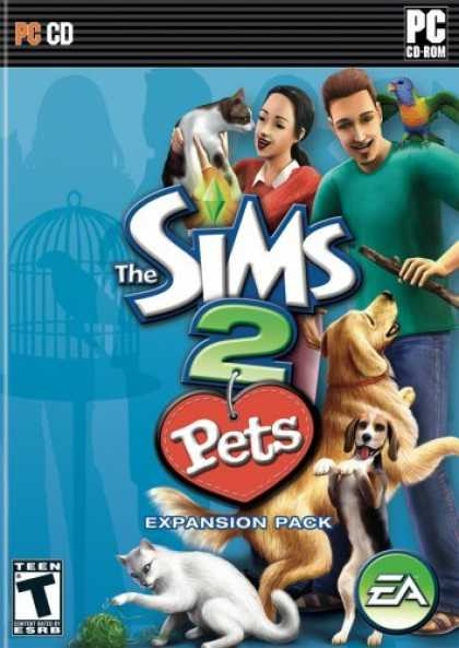 Bestselling Games (2006) - The Sims 2 Pets Expansion Pack - Continuum by John Mayer