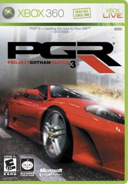 Bestselling Games (2006) - Project Gotham Racing 3