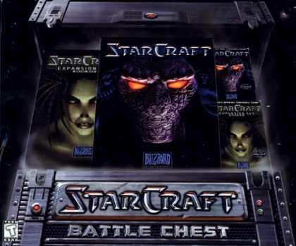 Bestselling Games (2006) - StarCraft Battle Chest