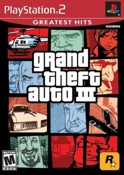 Bestselling Games (2006) - Grand Theft Auto III