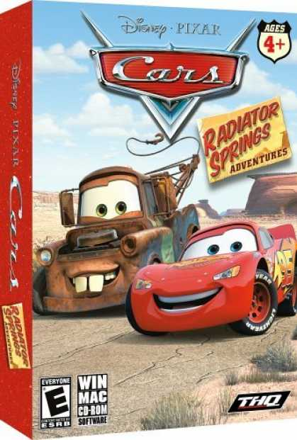 Bestselling Games (2006) - Cars Radiator Springs Adventures (Win/Mac)