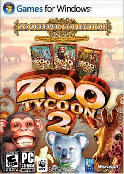 Bestselling Games (2006) - Zoo Tycoon 2: Zookeeper Collection