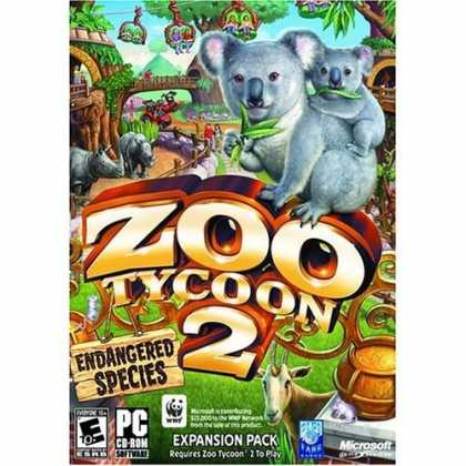 Bestselling Games (2006) - Microsoft Zoo Tycoon 2 Endangered Species Expansion Pack