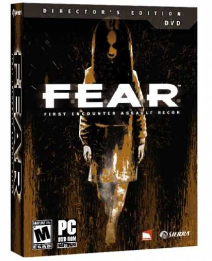 Bestselling Games (2006) - F.E.A.R. Director's Edition (DVD-ROM)