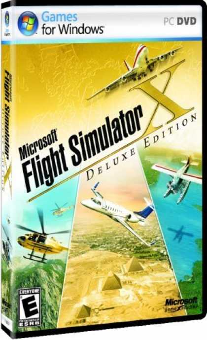 Bestselling Games (2006) - Microsoft Flight Simulator X Deluxe DVD - The Greatest Songs of the Sixties by B