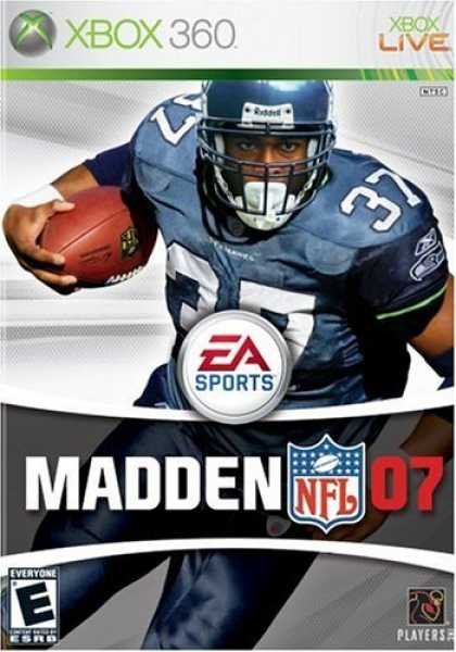 Bestselling Games (2006) - Madden NFL 07 (Xbox 360)