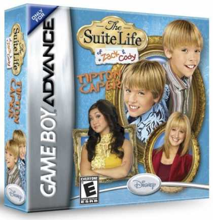 Bestselling Games (2006) - The Suite Life of Zack & Cody: Tipton Caper GBA