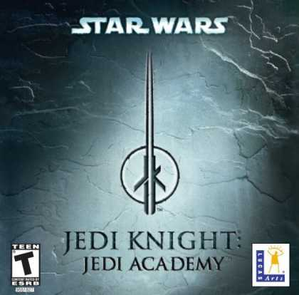 Bestselling Games (2006) - Star Wars Jedi Knight: Jedi Academy (Jewel Case)