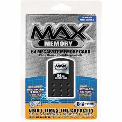 Bestselling Games (2006) - Sony Playstation 2 Max Memory Card 64MB