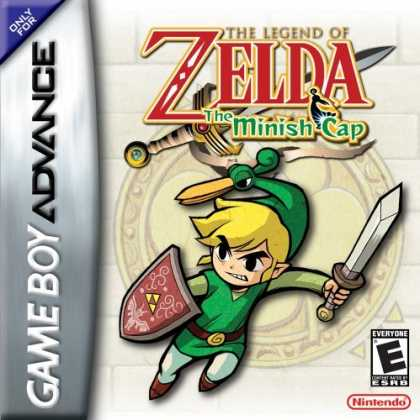 Bestselling Games (2006) - Legend of Zelda The Minish Cap