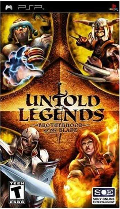 Bestselling Games (2006) - Untold Legends: Brotherhood of the Blade