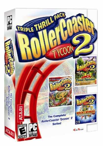 Bestselling Games (2006) - Rollercoaster Tycoon 2: Triple Thrill Pack