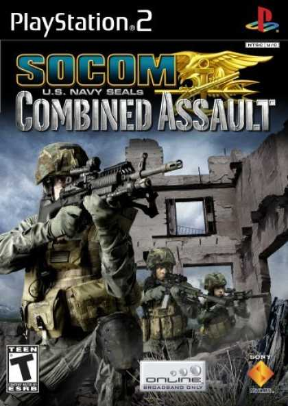 Bestselling Games (2006) - Socom US Navy Seals Combined Assault