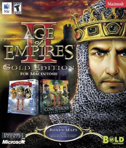 Bestselling Games (2006) - Age Of Empires 2 Gold Edition (Mac)