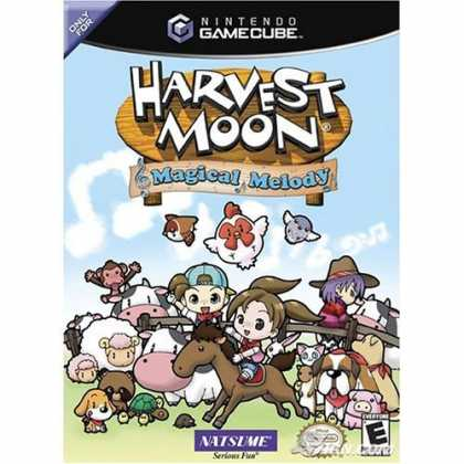 Bestselling Games (2006) - Harvest Moon Magical Melody