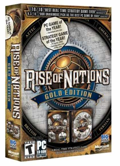 Bestselling Games (2006) - Rise of Nations Gold
