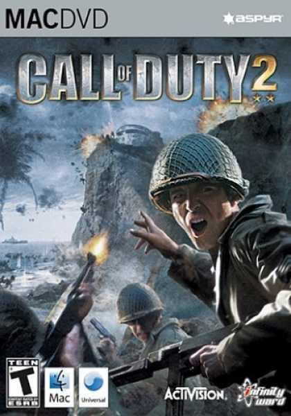 Bestselling Games (2006) - Call of Duty 2 DVD-Rom (Mac)