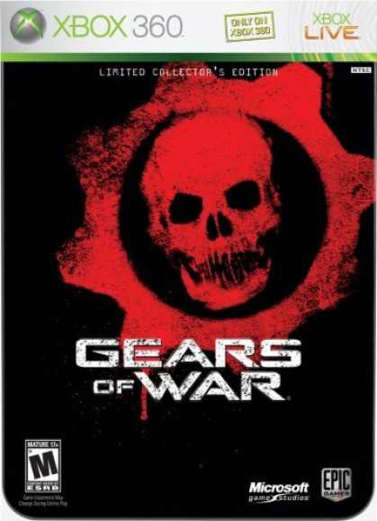 Bestselling Games (2006) - Gears of War - Limited Edition