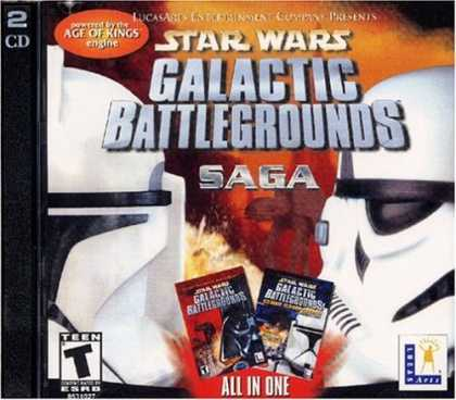 Bestselling Games (2006) - Star Wars Galactic Battlegrounds Saga (Jewel Case)