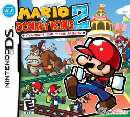 Bestselling Games (2006) - Mario vs. Donkey Kong 2 March of the Minis