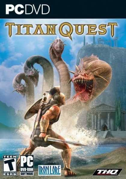 Bestselling Games (2006) - Titan Quest DVD-Rom