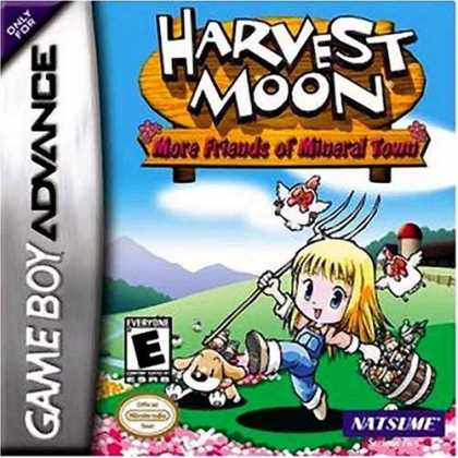 Bestselling Games (2006) - GBA Harvest Moon More Friends of Mineral Town
